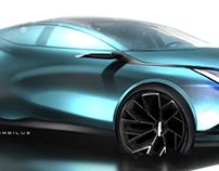 Automotive Skecthes 2017 VOL.1