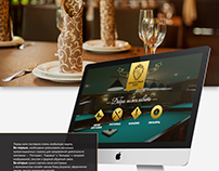 Сorporate website and online store for the restaurant