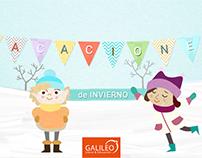 Julio: Vacaciones de Invierno. Galileo Libros