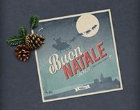 Vintage Pest Christmas | Pest Control Card