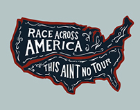 Race Across America Apparel Design