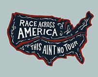 Race Across America Apparel Design