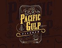 Pacific Gulp Pilsner - Concept Design