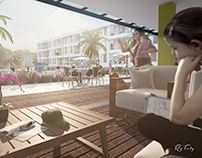 Unreal Engine 4 - Archviz - Exterior - KP - Anapoima