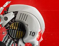 Robot/Skull