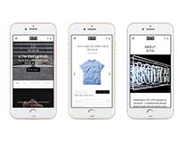 Kith Mobile Experience