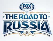 FOX Sports Road to Russia Logo Design