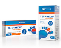 Development of concepts antifungal drug «Termikon»