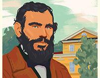 Portret Lev Tolstoy
