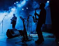 Perros del alba en concierto - Chivilcoy, Argentina