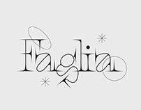 Faglia serif typeface