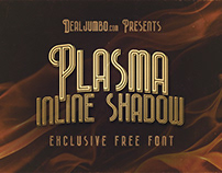 Plasma Inline Shadow – Free Font