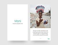 Moni App UI/UX Design