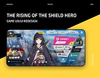 Game UX/UI redesign