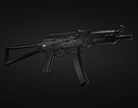 Saiga-9 - Carbine 3d model