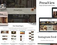PressView WordPress Theme