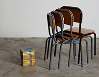 MOE Chair—An Old School Furniture Redesigned