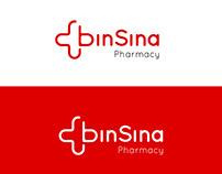 Logo variation for BinSina Pharmacy