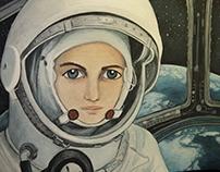 """Valentina Tereshkova """"Mujeres 2"""""""