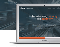 Ciena Homepage Redesign