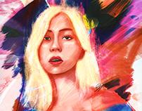 Blonde Lauren