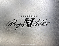 abaya addict logo concept