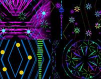 Color Stroke - VJ Loop Pack (4in1)