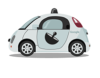 Google Car All Flat Icon