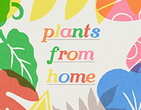 Plants from home (36 Days of type)