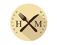 Healthy Malabar Restaurant   Logo Design