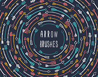 Hand Drawn Arrows Graphics Clipart Vectors and Brushes