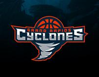 Grand Rapids Cyclones - Branding