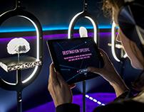Inmarsat Augmented Reality Kiosk