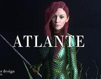 3D Character design Cinema4d/Octane