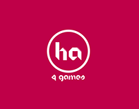 HA 4 Games | Logo