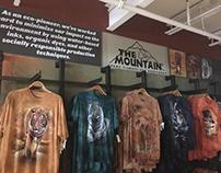 Busch Gardens- Mountain T-shirt Signage