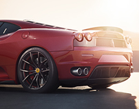 Ferrari F430 | CGi | 3D Render
