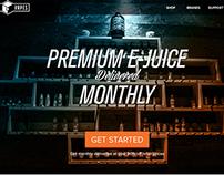Box Of Vapes: Website / Subscription Design