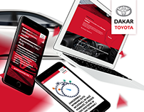 Toyota Car Rental - Web design