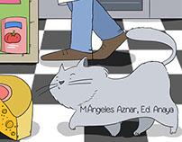 Ratón de campo, ratón de ciudad. Ed. Anaya
