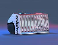 Peaches concept speaker