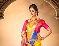 Paravathi Silks campaign shoot