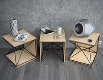 X-1 SIDE TABLE