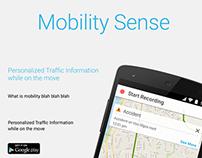 Mobility Sense website