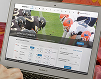 Sports Betting - Website Concept Design