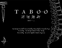 Poster Recreation: Taboo