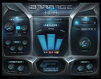 HPA Barrage Kontakt Library Gui Design