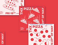 THX PIZZA – Exhibition Branding