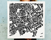 Painted Cities: Figure-Ground Studies