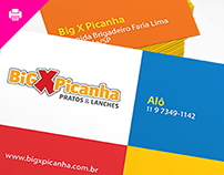 Big X Picanha - Cartão de Visita